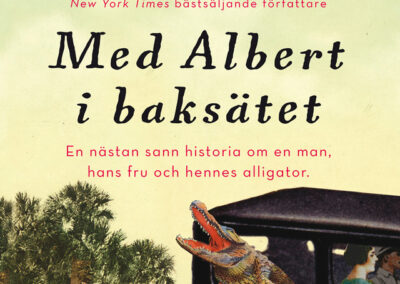 Med Albert i baksätet