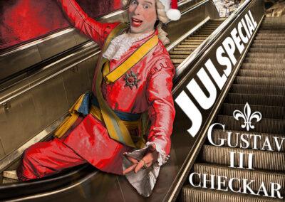 Gustav III checkar in – julspecial