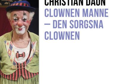 Clownen Manne – Den sorgsna clownen